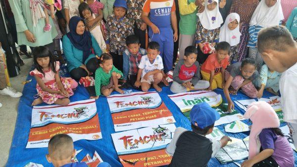 Dengan Semangat Kemerdekaan, ACI meriahkan HUT RI ke-74 bersama Para Petani dan Kios CRM Binaan