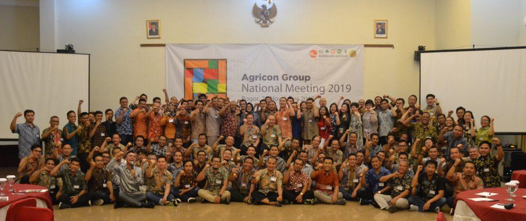kepuasan pelanggan, national meeting, agricon group, agricon, stategi, synergy for succes.